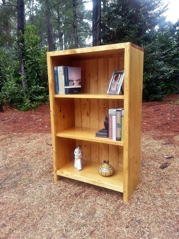 Coastal Oak Designs : Handmade Wood Bookcase